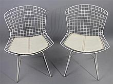 PAIR OF HARRY BERTOIA FOR KNOLL SIDE CHAIRS
