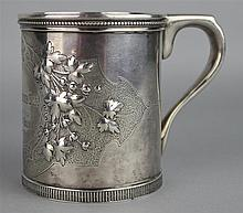 TIFFANY & CO. SILVER CHILD'S MUG