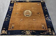 SEMI ANTIQUE CHINESE NICHOLS RUG