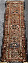 LARGE HAMADAN WOOL RUNNER