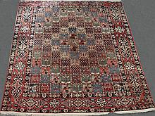 LARGE PERSIAN BAKTIARI GARDEN WOOL RUG