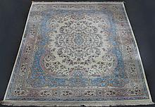 LARGE AUBUSSON DESIGN MACHINE MADE RUG