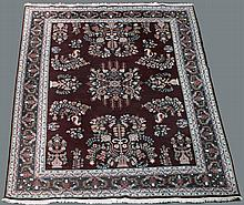 LARGE INDO-PERSIAN ORIENTAL WOOL RUG