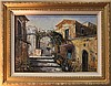 D'AUDEN? (20TH CENTURY) MEDITERRANEAN SCENE Oil on canvas: 19 x 26 1/2 in. (sight)