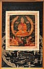SINO-TIBETAN THANGKA DEPICTING TSON-KHA-PA (1357-1419)