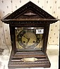 Brass Faced Wooden Mantle Clock, Presentation