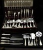 146PCS - STIEFF STERLING FLATWARE - ROSE PATTERN