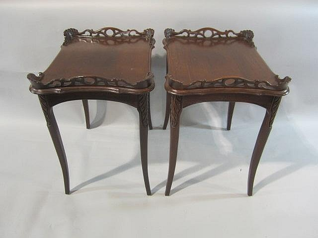 H18-59  PAIR OF PARLOR TABLES