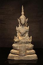 Tibetan antique Bronze Buddha statue