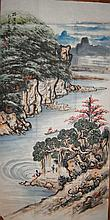 Guan shanyue(1912-2000); Chinese watercolor