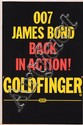 Goldfinger U.K. advance double-crown poster style