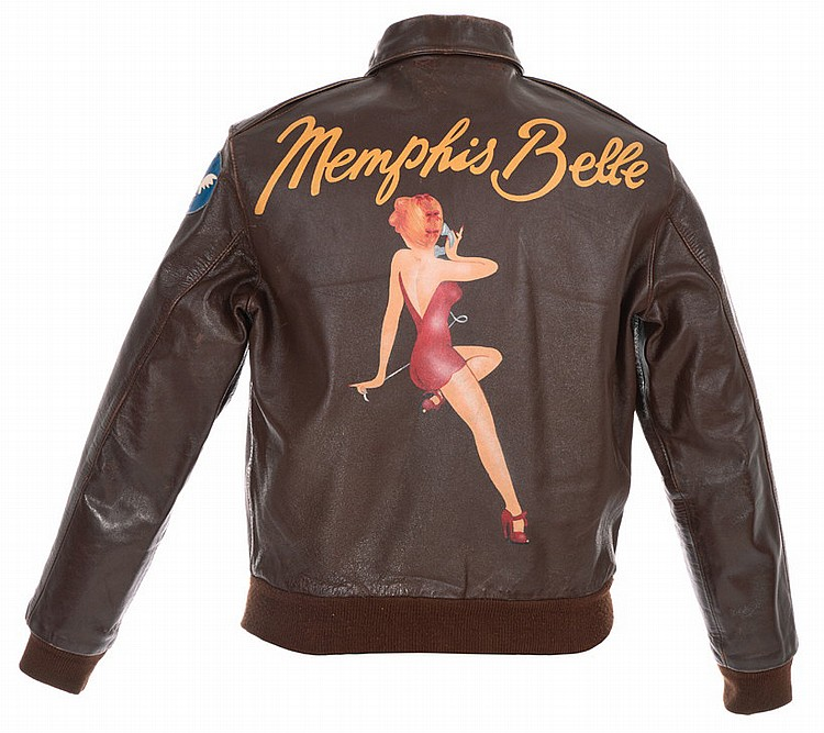 Flight jacket from Memphis Belle.