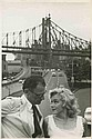 Oversize vintage master prints (4) of Marilyn Monroe and Arthur Miller by Sam Shaw.
