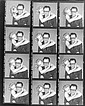 (12) vintage contact print sheets of Marilyn Monroe and Arthur Miller by Richard Avedon.