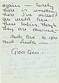 Collection of correspondence and cards from Princess Grace of Monaco to producer John Foreman.