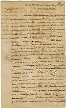 Washington, George. Revolutionary War-date letter signed (
