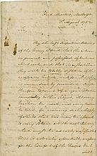 Washington, George. Highly important Revolutionary War-date letter signed, 3 pages, 3 August 1782.