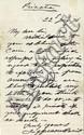 Davis, Jefferson.  Autograph letter signed (