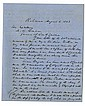 Davis, Jefferson. Letter signed