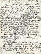 Whitman, Walt. Autograph letter signed, 1 page (10 ½ x 7 ¾ in.; 267 x 197 mm.)
