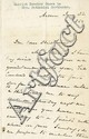 Stowe, Harriet Beecher. Autograph letter signed, 3 pages, (7 1/8 x 4 ½ in.; 181 x 114 mm.)