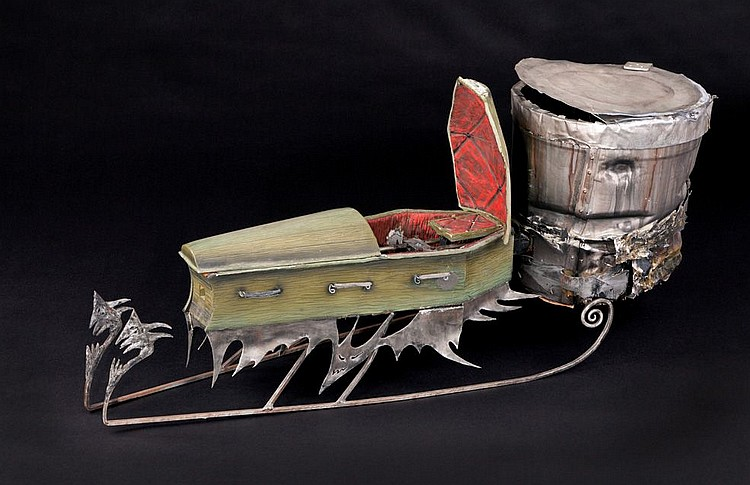 The Nightmare Before Christmas full-size sled.