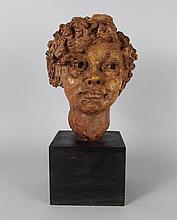 Jacob Epstein Plaster Marion Vernay Sculpture