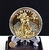 GILT SILVER COMMEMORATE COIN