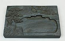 CHINESE GREEN DUAN INKSTONE