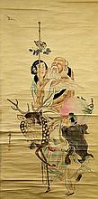 SCROLL PAINTING ON PAPER, ATTRIBUTED TO QIAN HUI-AN