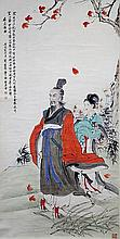 SCROLL PAINTING ON PAPER, ATTRIBUTED TO LIU LING-CANG