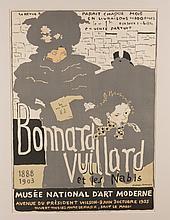 Bonnard Vuillard et les Nabis, exhibition poster.