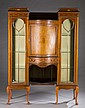 Edwardian 2 section display cabinet, early 20th c.