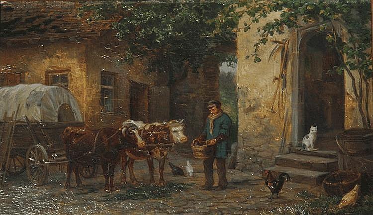 Bauernszene, 1871