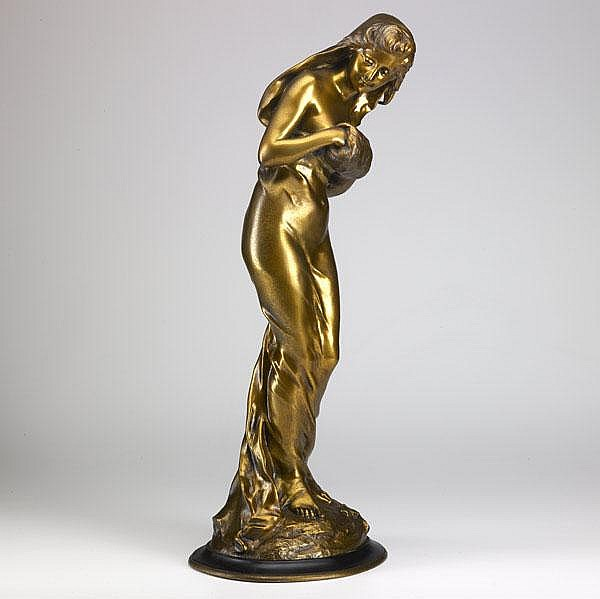 SYLVAIN KINSBURGER (French, 1855-1935); Bronze