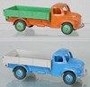 2 DINKY 414 DODGE REAR TIPPING WAGONS