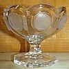 Fostoria Coin Dot Crystal Compote