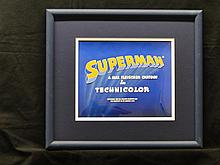 Superman framed title card