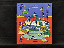 Walt in Wonderland, the Silents of Walt DisneyEnglish hardcover published in 1992 Russel Merritt & JB Kaufman; signed by Virginia Davis (Alice in Wonderland star); signed copies RARE; Walt Disney CompanyWalt in Wonderland, the Silents of Walt