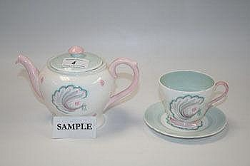 Shelley Symphony tea for two set comprising