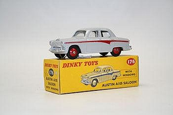 Dinky - Austin A105 Saloon no. 176, boxed