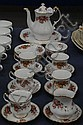 Paragon Elizabeth Rose teaset (21 pieces)
