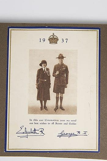 An important Royal scrap album belonging to The