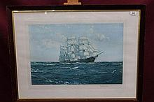 *Montague Dawson (1895 - 1973), signed artists
