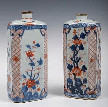 Two rare fine early eighteenth century Chinese