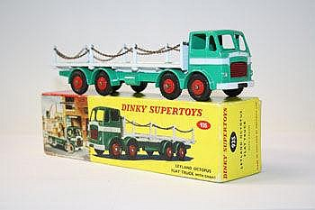 Dinky Supertoy - Leyland Octopus Flat Truck with