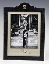 HRH Prince Philip The Duke of Edinburgh - fine sig