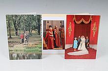 HRH The Duke of Edinburgh - two signed Christmas c