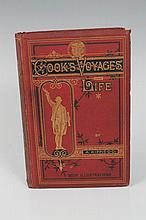 Book - Cooks Voyages and Life by Dr A Kippis DD cl