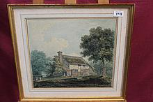 Early 19th century English School watercolour in g